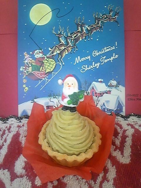 サンタのケーキ!