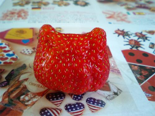 苺キティ!