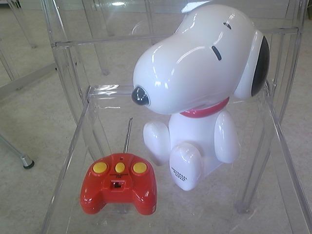 スヌのリモコンロボット!