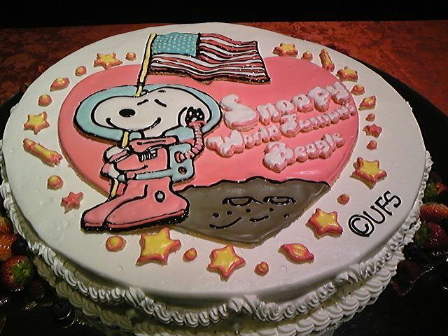 アストロノーツのケーキ!