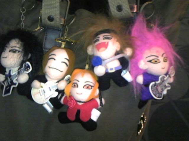 X JAPAN マスコット!