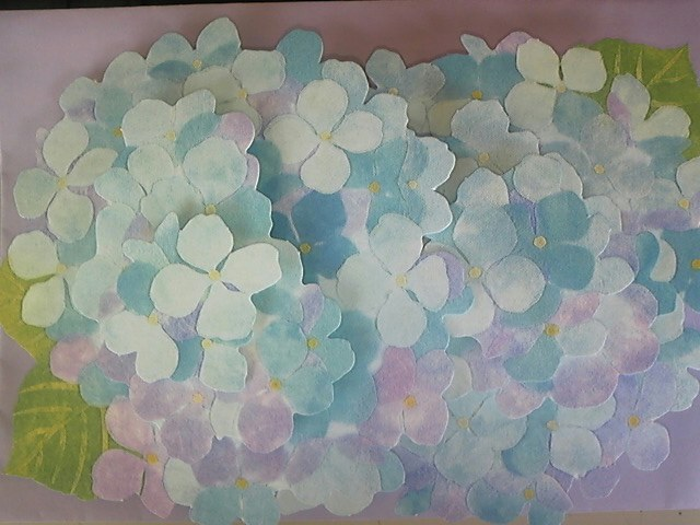 紫陽花カード!