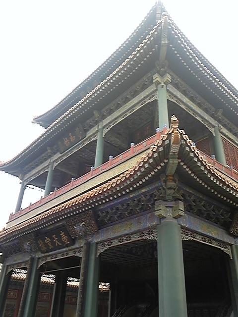 紫禁城内の京劇の舞台!