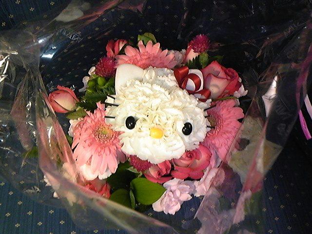 キティのお花!
