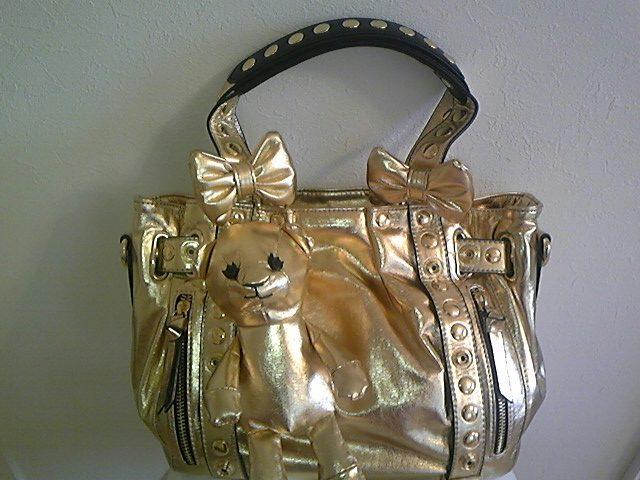 金色くまちゃんバッグ!