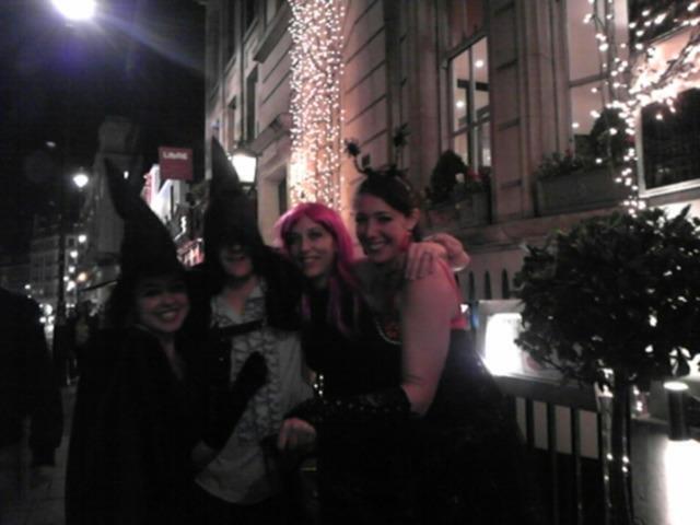 ロンドンのハロウィン!