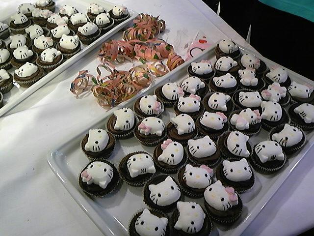 キティのカップケーキ!