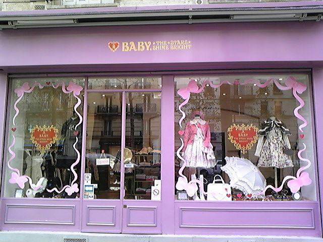 パリのBABY!