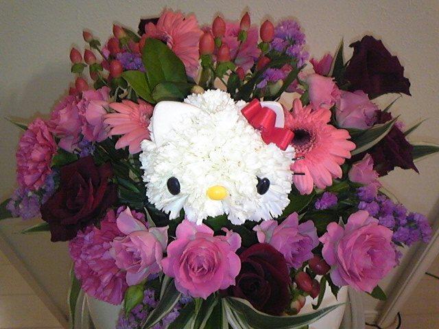 やっぱり〜キティのお花!