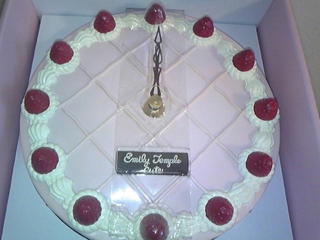 ケーキの時計!
