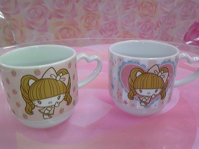 辻ちゃんキティマグカップ!