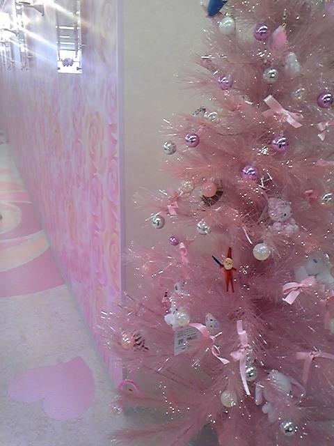 クリスマスツリーの季節2<br />  !