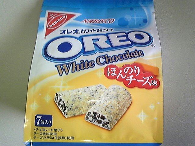 OREOホワイトチョコ!