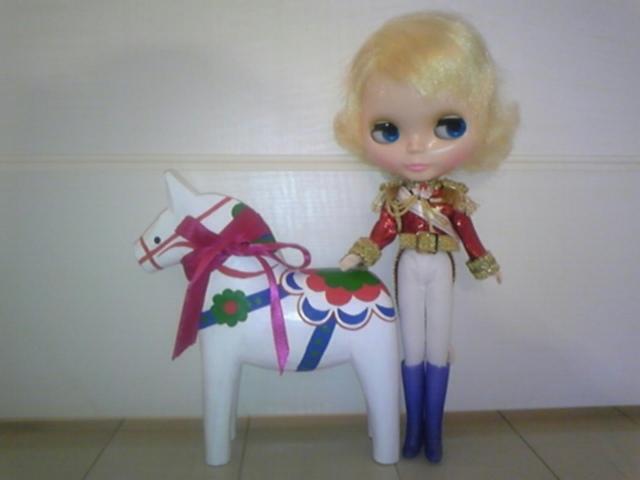 白馬の騎士!
