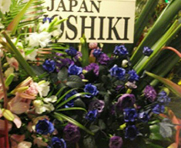 YOSHIKIさんからのお花!