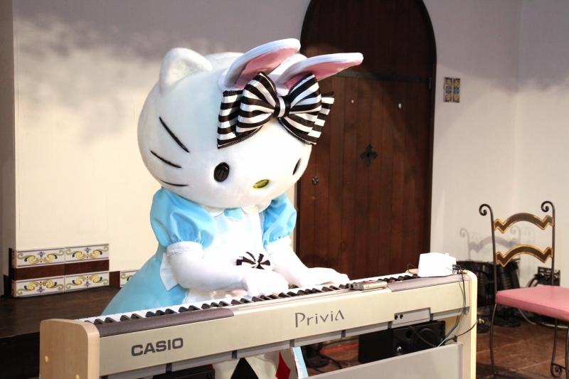 キティのピアノ!