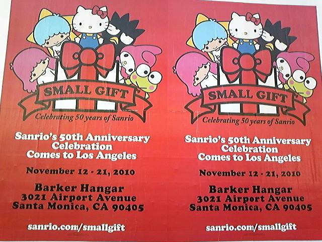 Sanrio's 50th Anniversary<br />  !