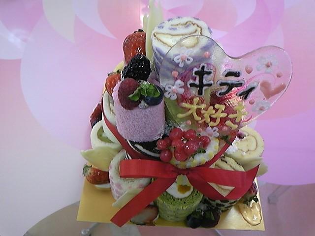 irinaのミニロールケーキ!