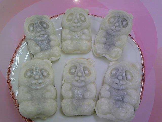 白パンダ焼きがやって来た〜!