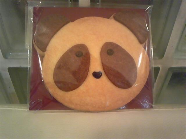 パンダクッキー!