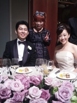 結婚パーティー!