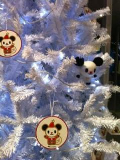 ゴーちゃん。クリスマスツリー!