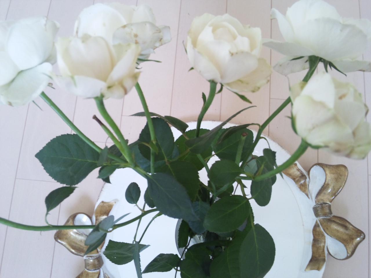 白薔薇の香り!