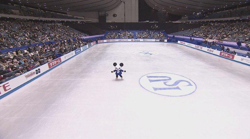 ゴーちゃん。フィギュアスケート!