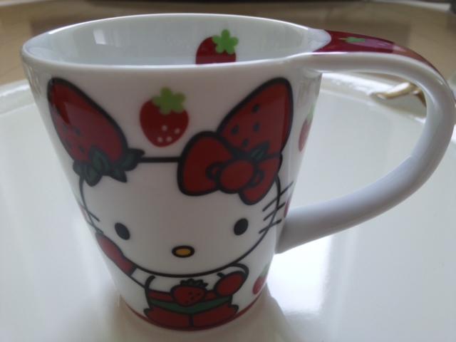 いちごマンマグカップ!