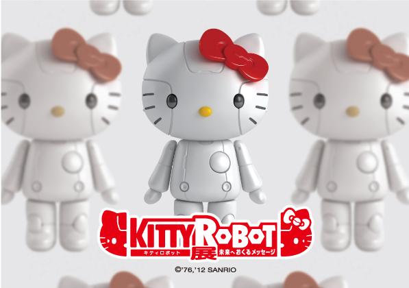 キティロボット展!