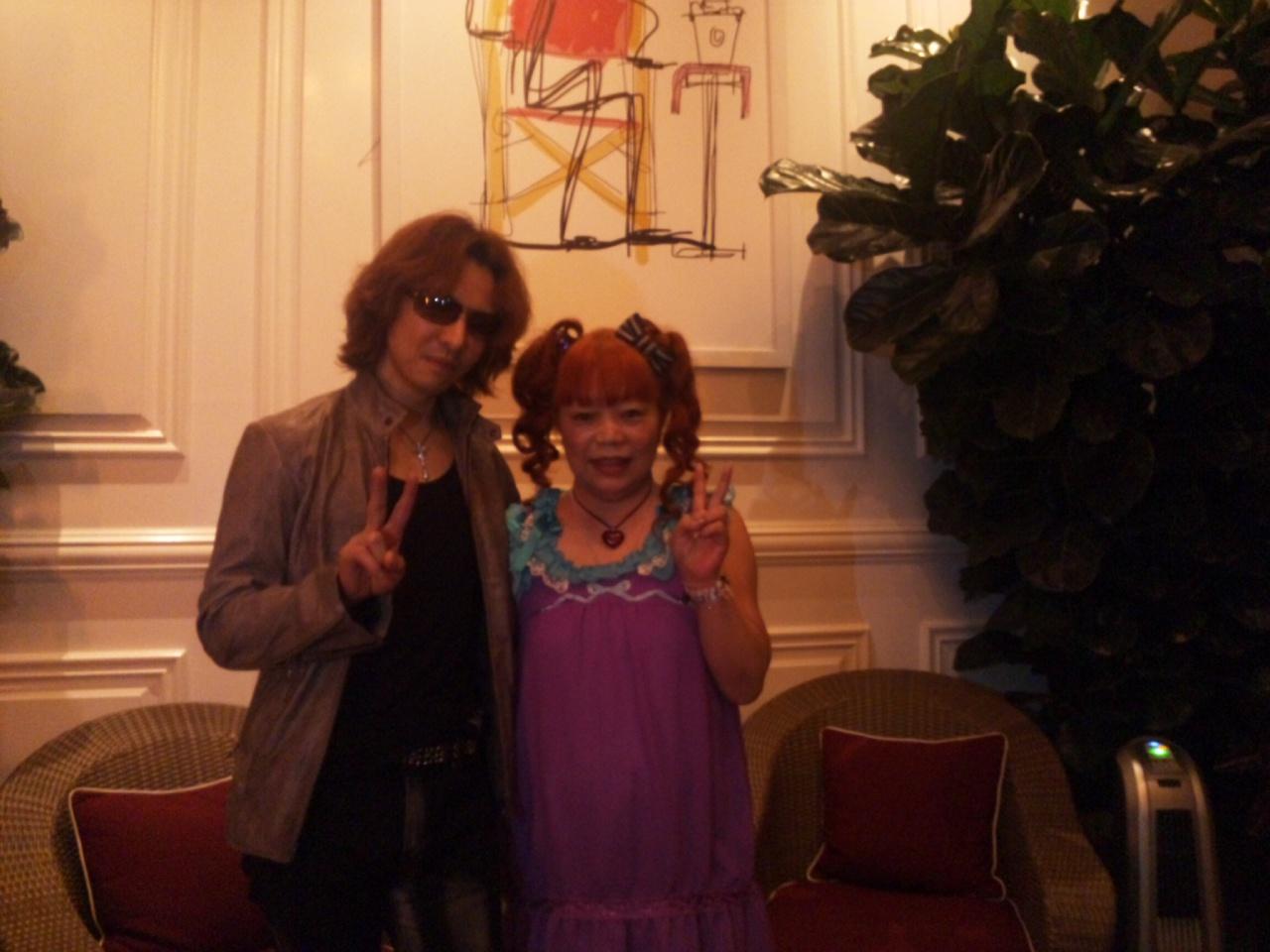 YOSHIKIさんとパチリ!
