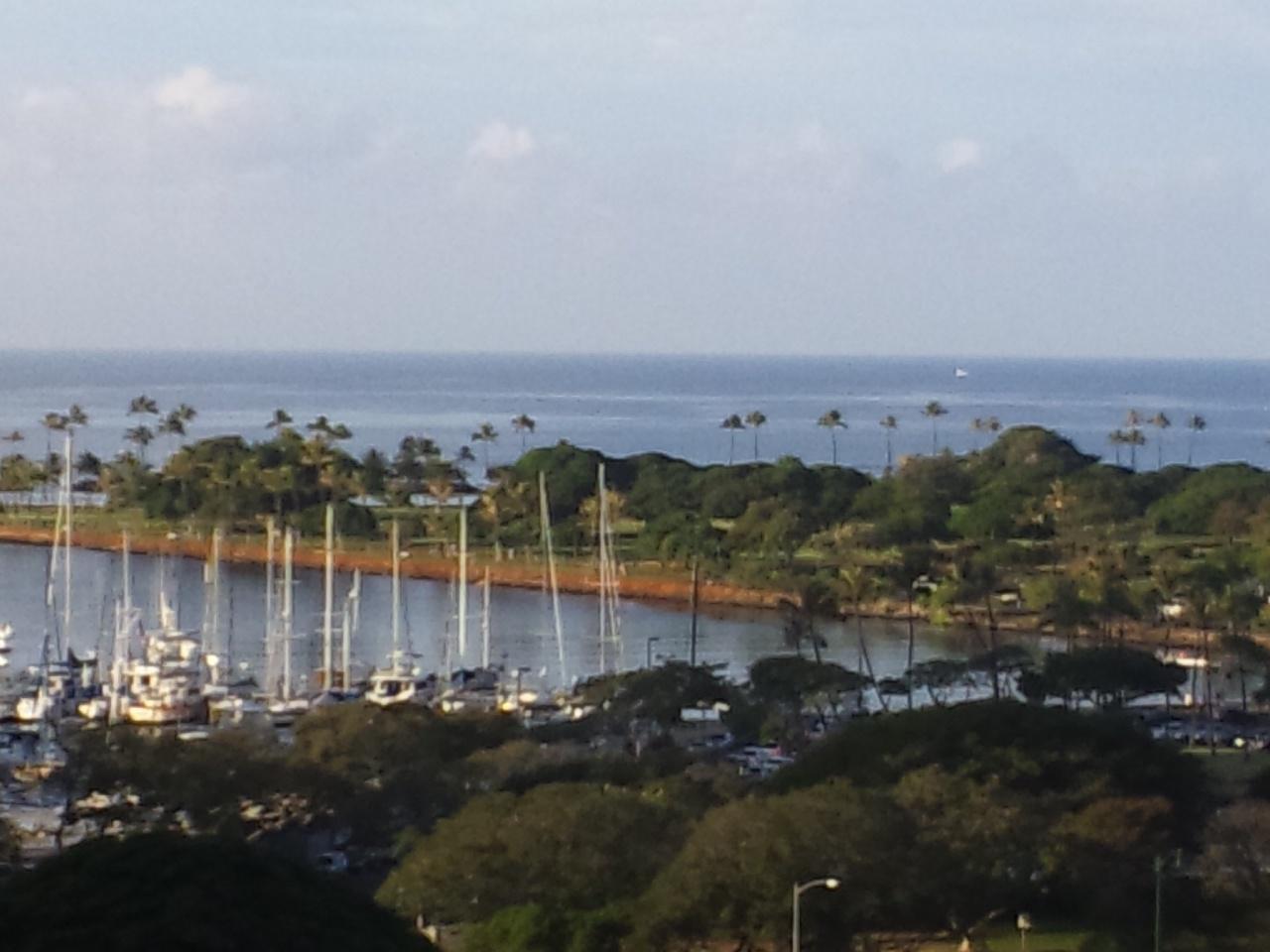 ハワイの海!