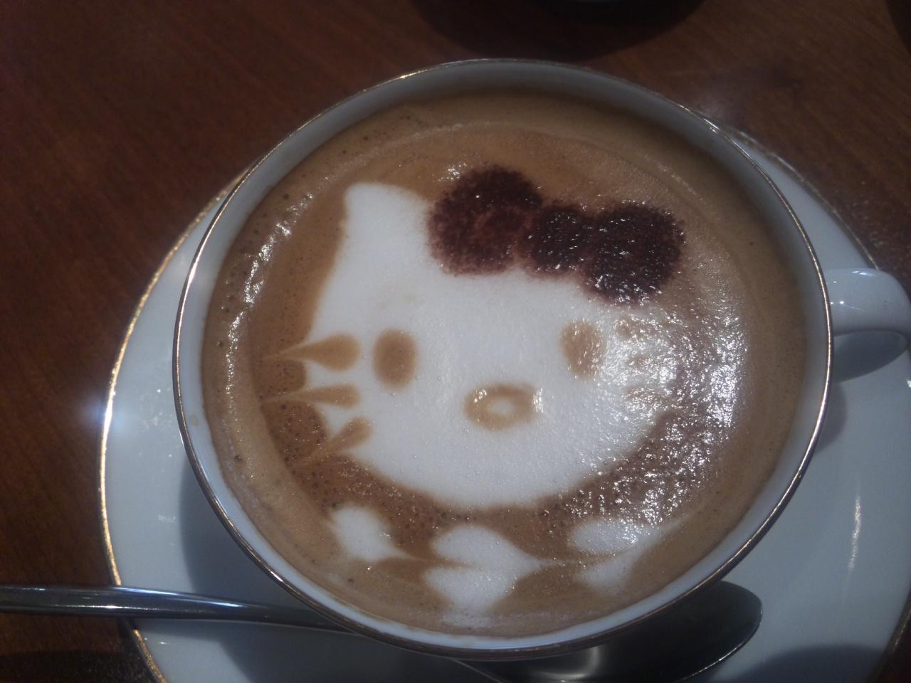 キティカフェラテ!