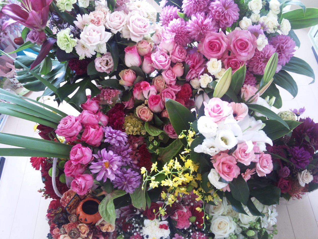 お花がいっぱい〜!