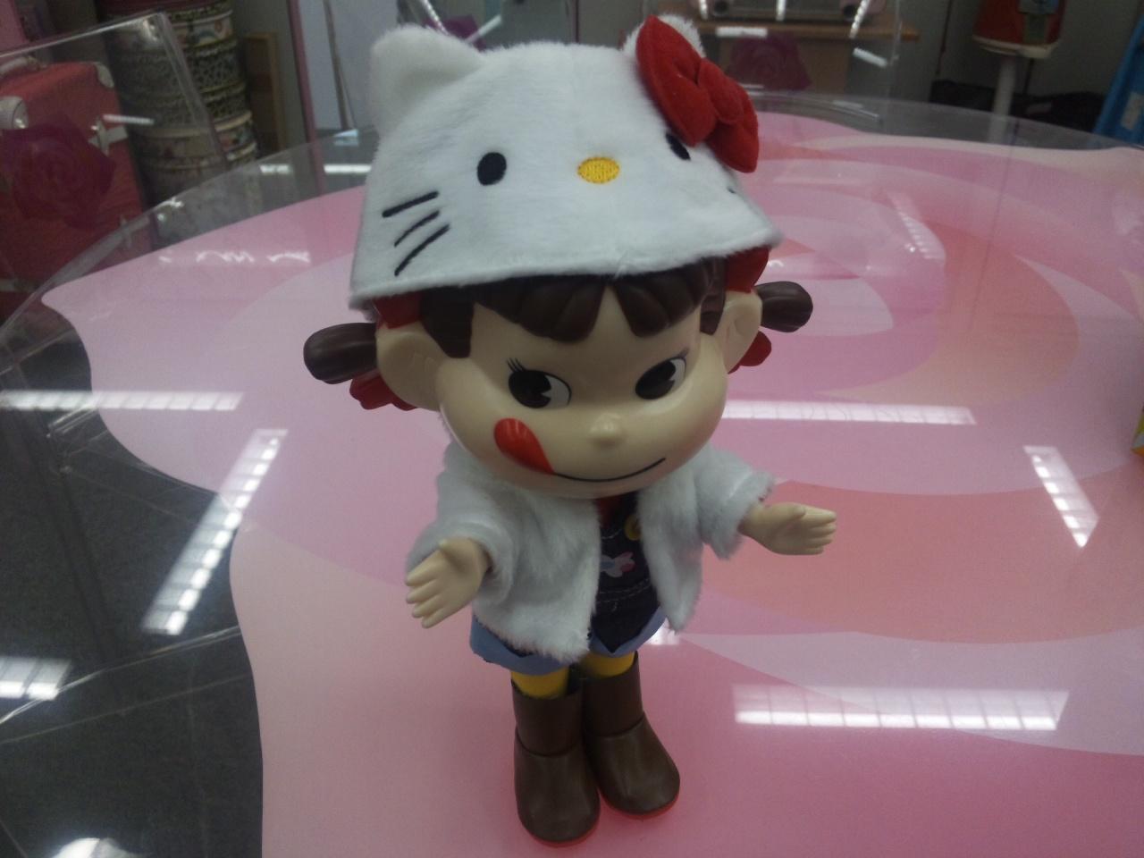 ペコちゃん人形!
