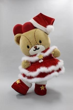 タイニーチャムクリスマス衣裳!