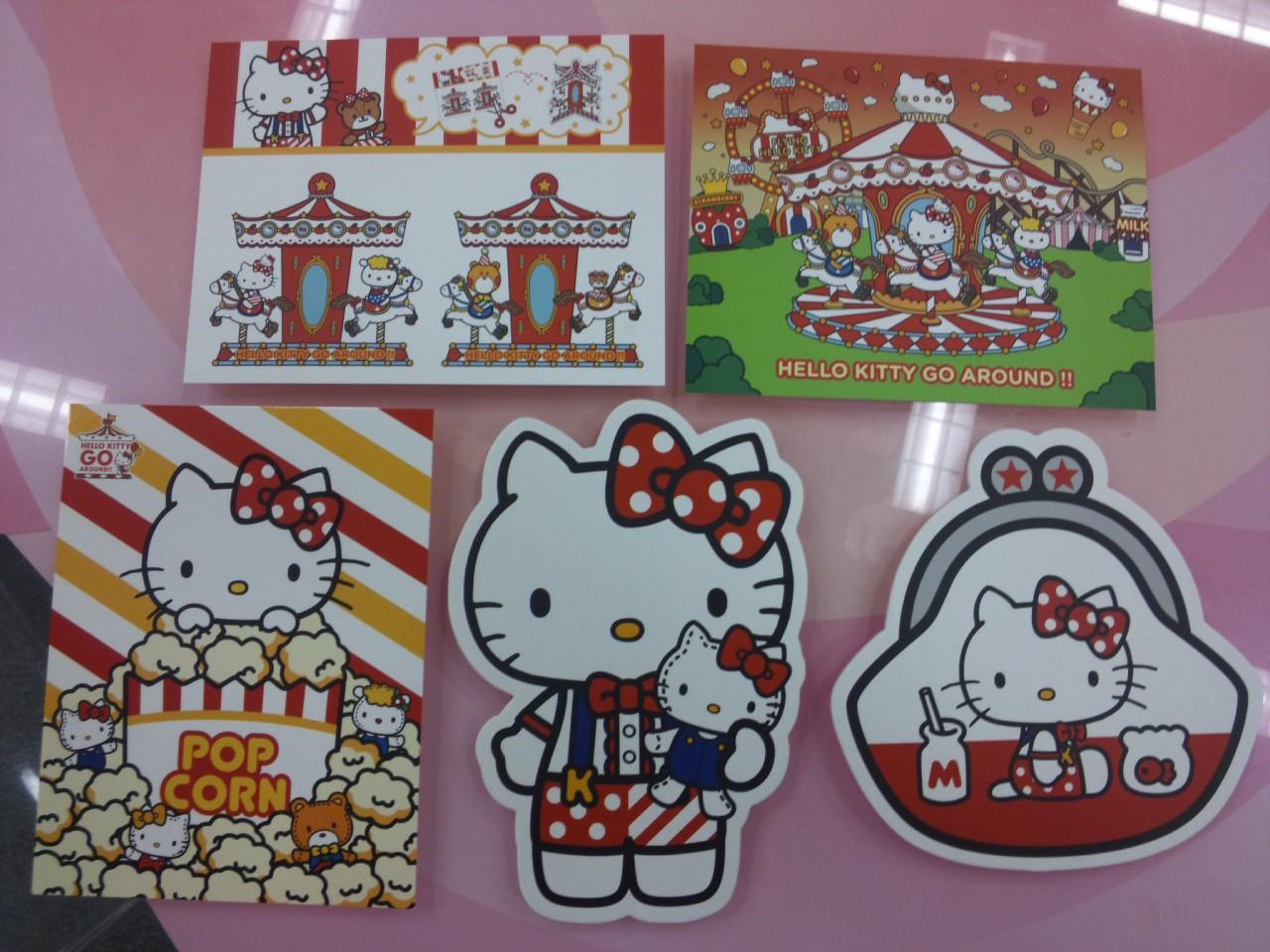キティ郵便局のポストカードたち!