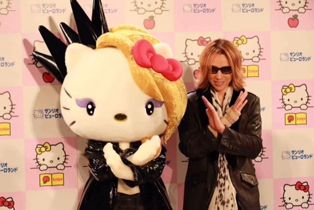 YOSHIKIさん&yoshikitty!