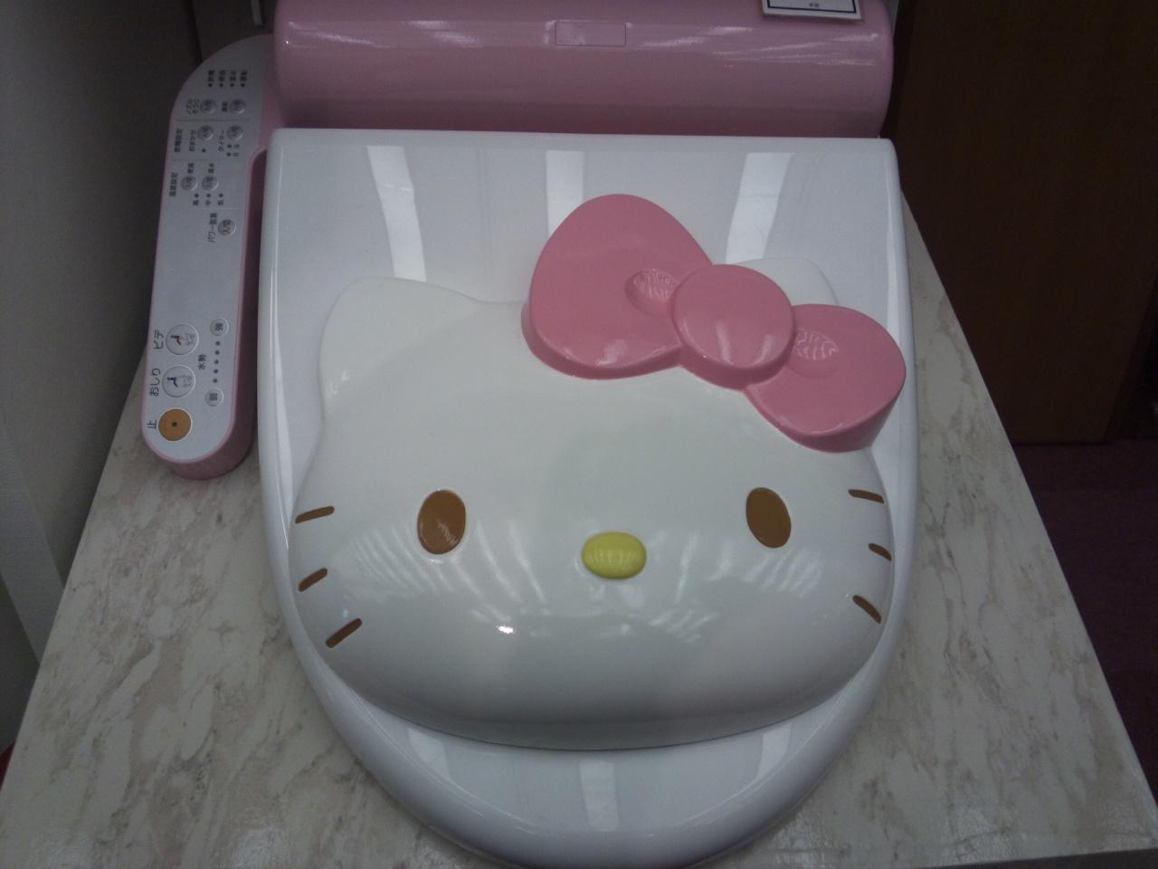 キティのトイレ!
