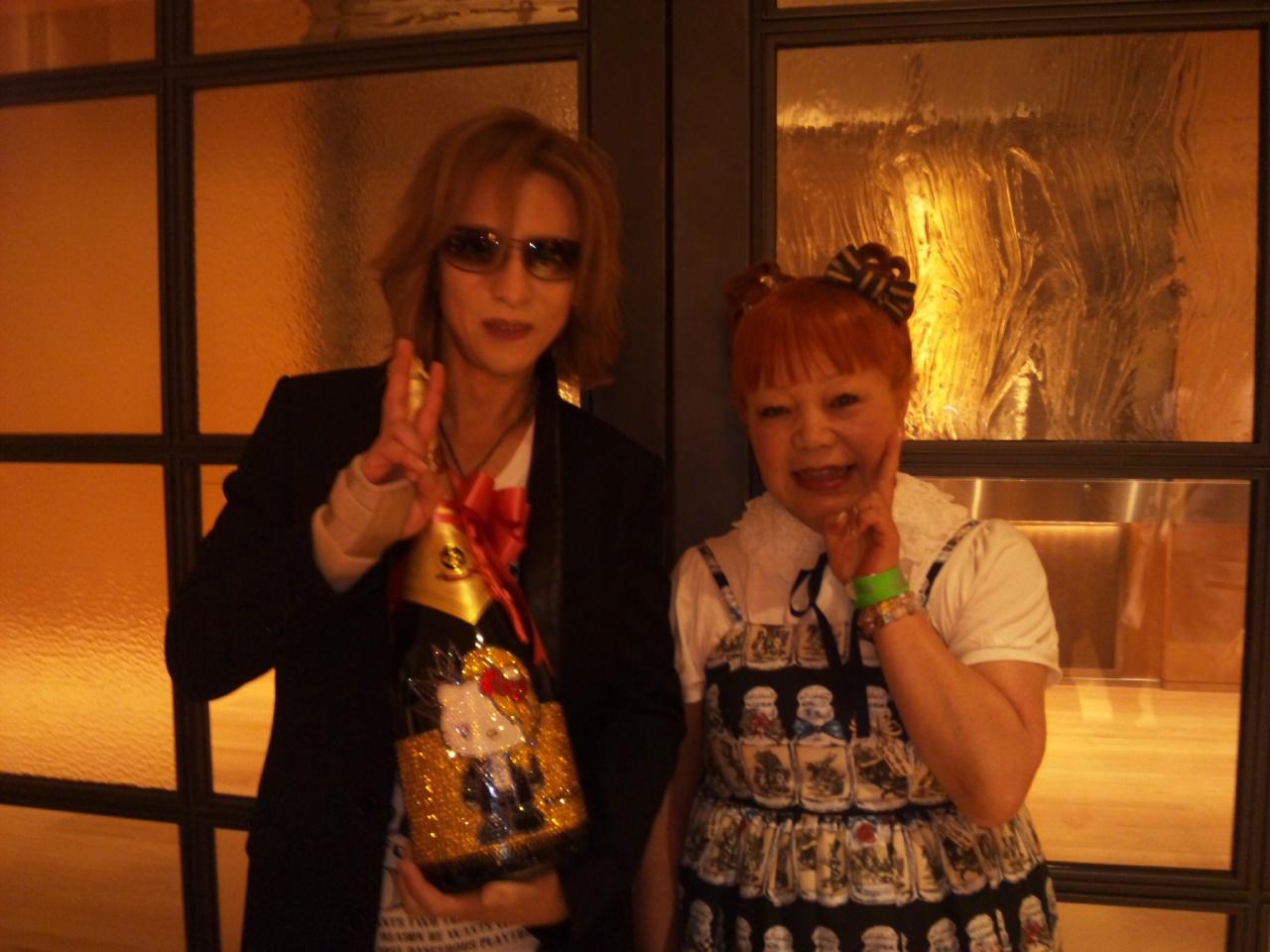 YOSHIKIさんディナーショー!