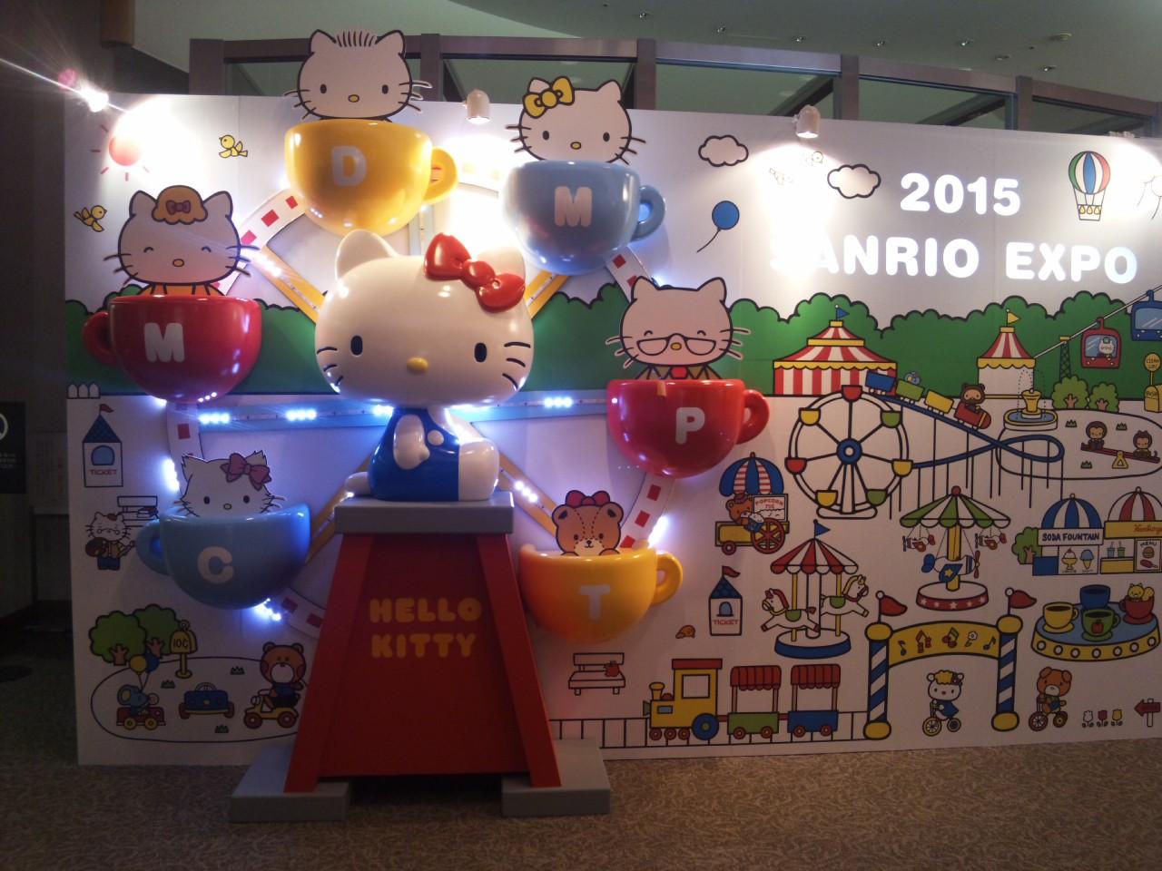 まもなくSANRIO EXPO 2015<br />  !