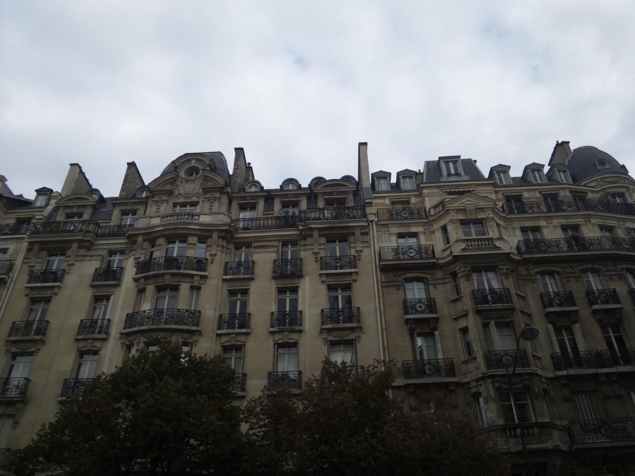 パリの朝!
