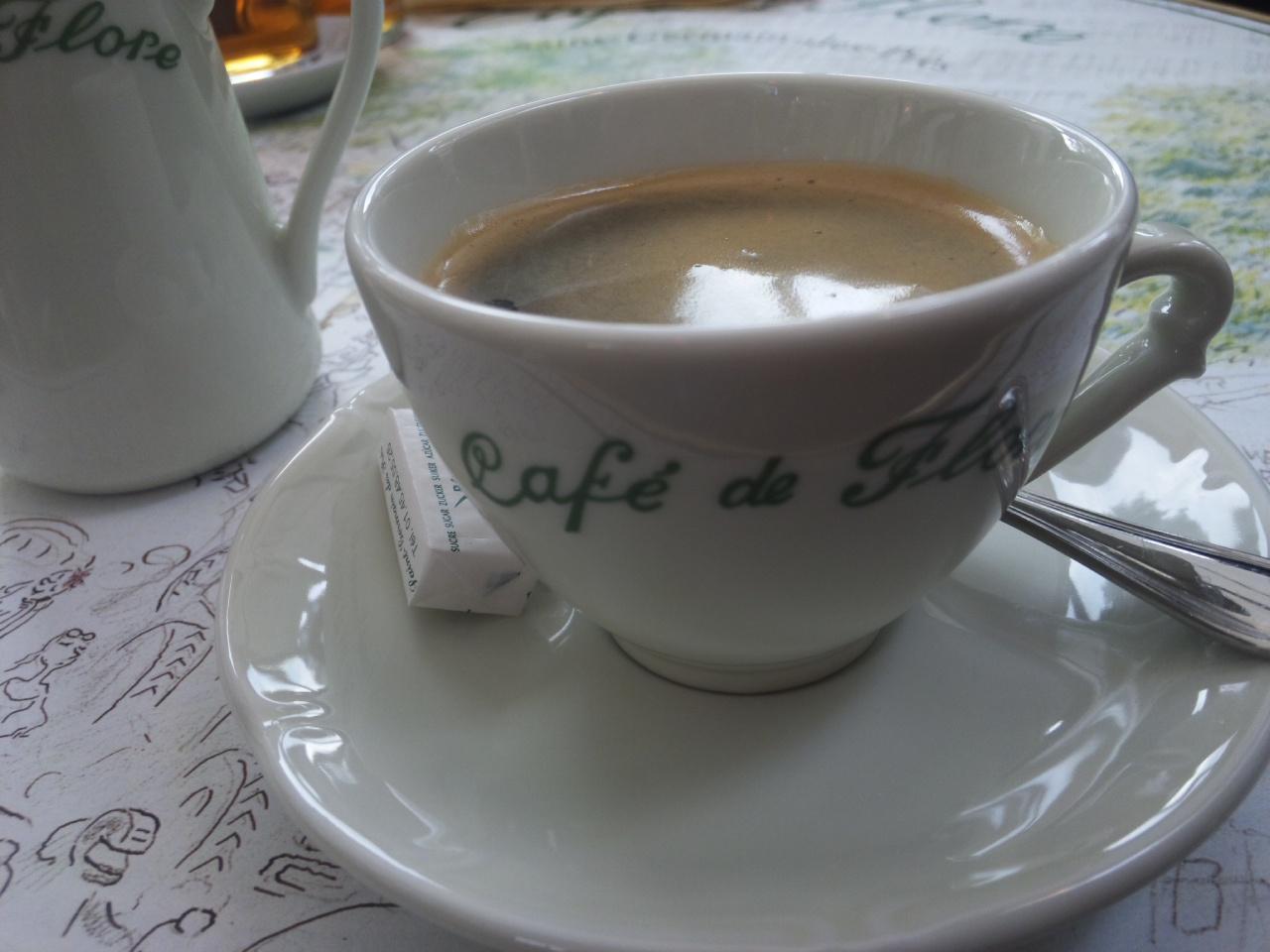 Cafe de Flore!