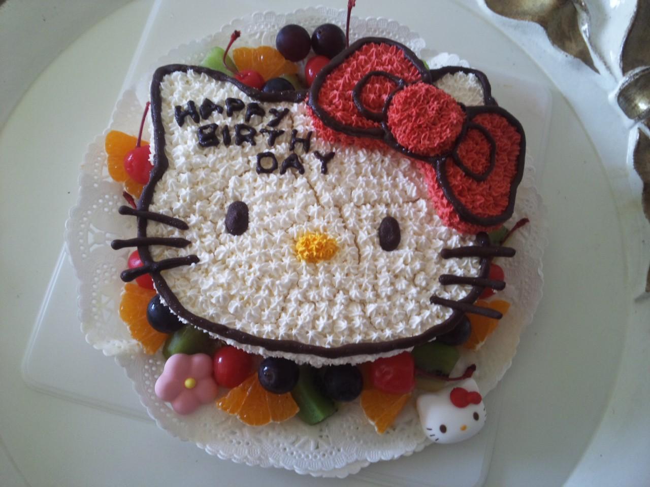 辻ちゃんの手作りケーキ!