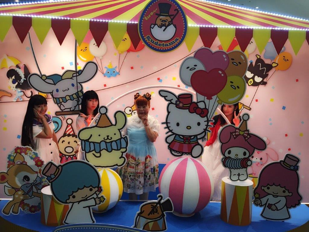 SANRIO EXPO 2016のお客様2<br />  !