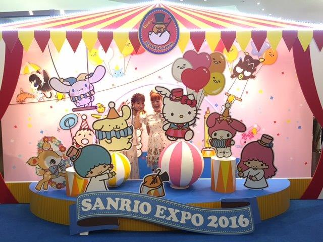SANRIO EXPO 2016のお客様3<br />  !