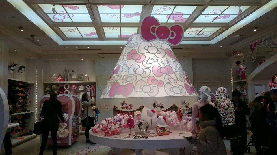 HELLO KITTY DESIGN STUDIO ランプシェード!